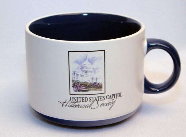 Wrap Around Pottery Soup Mug